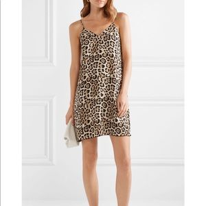 ATM Brand new Silk Leopard Dress with tags